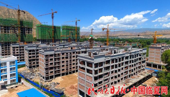 广河县康家村易地扶贫搬迁安置点项目建设进展顺利 -中国临夏网