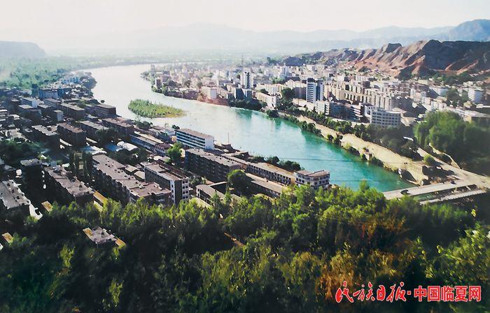 永靖县城刘家峡全貌(摄于2000年前).jpg
